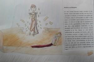 Taller de cuentos mitológicos en la biblioteca F. Lázaro Carreter.