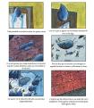 Cómic sobre el texto 'Aplastamiento de las gotas' de Córtazar dibujado por Gabriel a los 11 años.