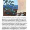 Cuento sobre 'La odisea' ilustrado por Gabriel a los 11 años.