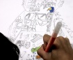Cuento sobre los mitos egipcios ilustrado por Germán a los 12 años.