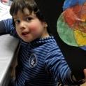 Darío a los 4 años.