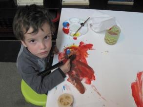 Iván a los 4 años.