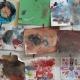 Varios trabajos realizados por los alumnos y alumnas en 2013.
