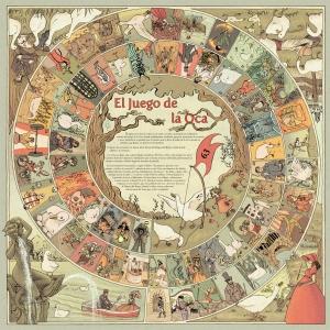 El juego de la Oca, de la ilustradora María Espejo.