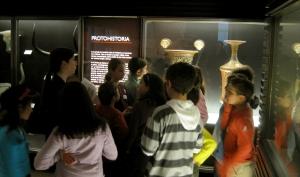 Visita taller 'El cantar de la sirena' en el Museo Arqueológico Nacional.