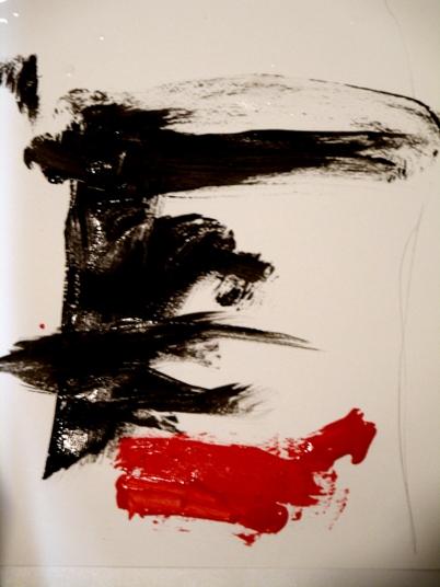 Detalle de la pintura de Iván