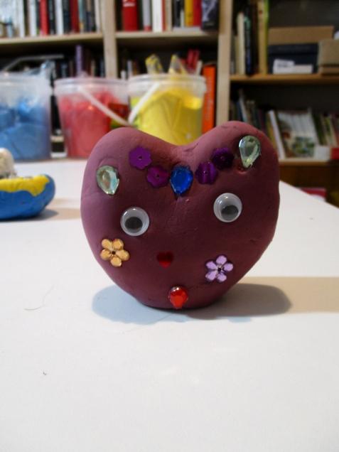 El corazón presumido, diseñado por Nur