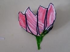La flor de loto de Nur cerrada